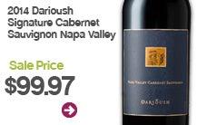 2014 Darioush Signature Cabernet Sauvignon Napa Valley