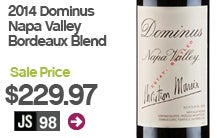 2014 Dominus Napa Valley Bordeaux Blend