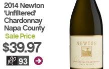 2014 Newton 'Unfiltered' Chardonnay Napa County