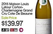 2015 Maison Louis Latour Corton-Charlemagne Grand Cru Cote De Beaune.
