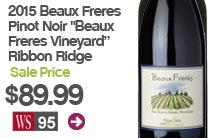 "2015 Beaux Freres Pinot Noir ""Beaux Freres Vineyard"" Ribbon Ridge"