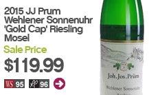 2015 J.J. Prum Wehlener Sonnenuhr Gold Cap Riesling Mosel..