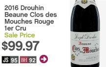 2016 Joseph Drouhin Beaune Clos des Mouches Rouge 1er Cru Cote De Beaune