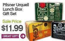 Pilsner Urquell Lunch Box Gift Set