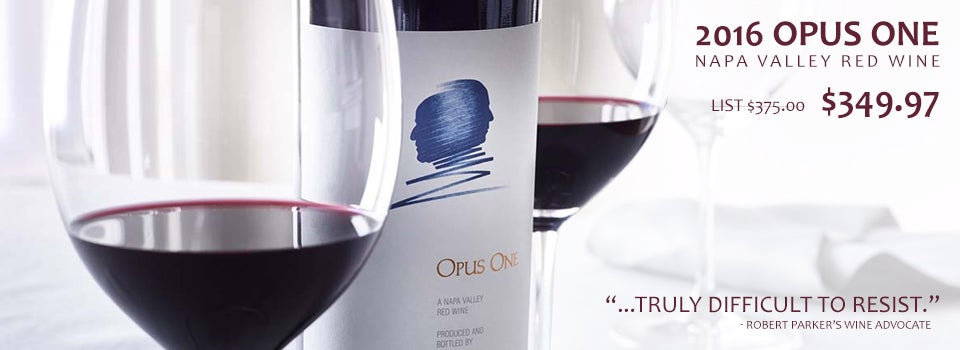 2016 Opus One Bordeaux Blend Napa