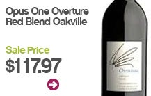Opus One Overture Red Blend Oakville $117.97