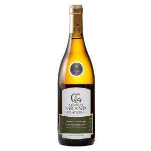 2018 Chateau Grand Traverse Barrel Fermented Chardonnay Old Mission Peninsula