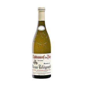 2016 Vieux Telegraphe Chateauneuf du Pape Blanc 'La Crau' Southern Rhone