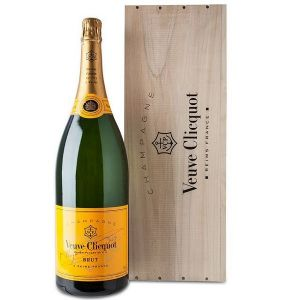 NV Veuve Clicquot Brut Champagne Yellow Label 3 Liter