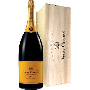 Veuve Clicquot Brut Champagne Yellow Label Nebuchadnezzar 15L