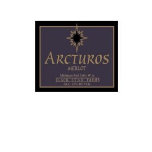 2016 Black Star Farms Arcturos Merlot Michigan