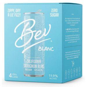 Bev California Sauvignon Blanc Wine 4x250ml