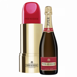 Piper-Heidsieck Cuvée Brut Champagne with Lipstick Cooler