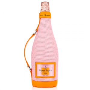 Veuve Clicquot Brut Rose Champagne with Mesh Ice Jacket