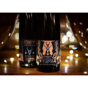 Superstition Meadery Blueberry Hex Vanilla Stout Barrel-Aged Mead 375ml