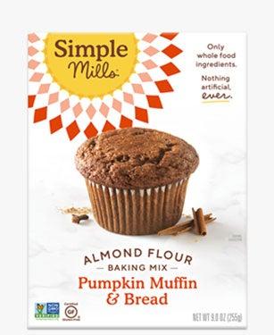 Simple Mills Pumpkin Muffin Almond Flour Mix 9oz