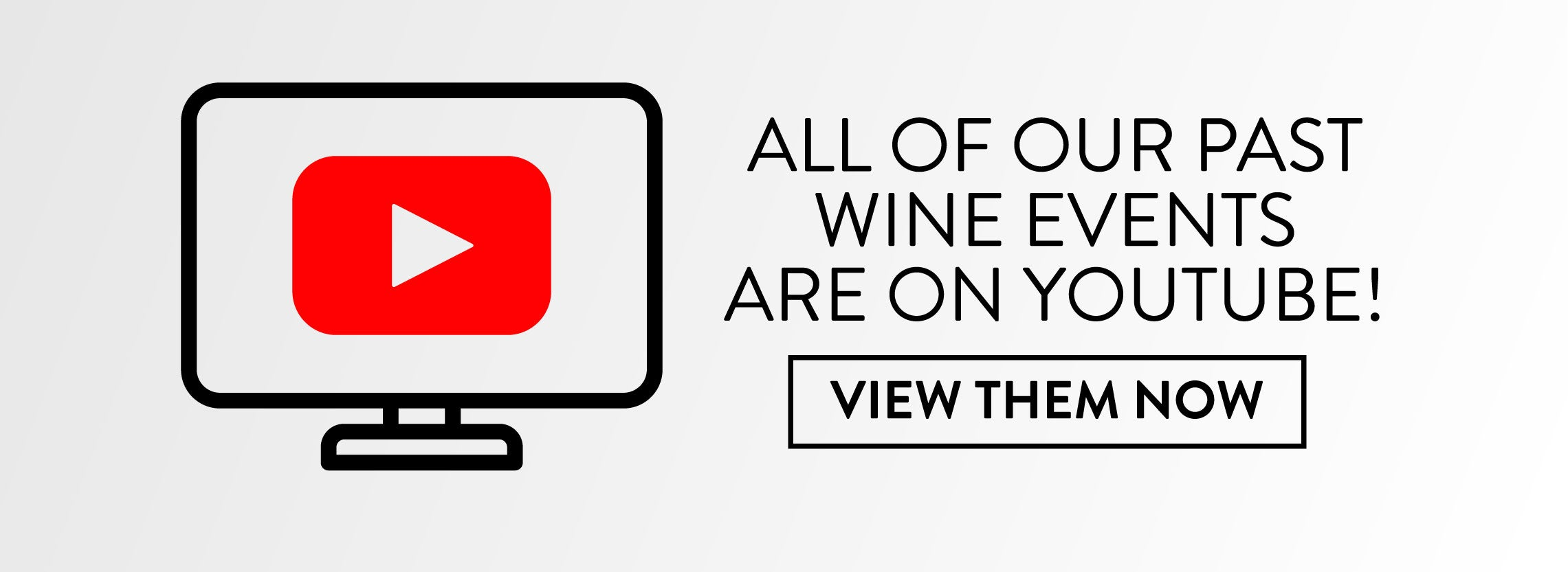 All Of Our Past Wine Events Are On Youtube!
