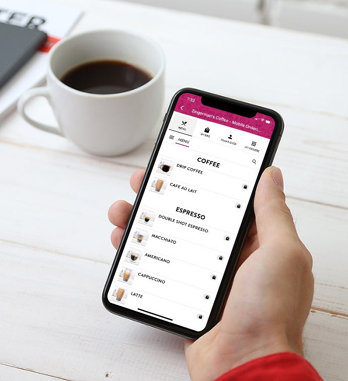 Mobile Order Coffee