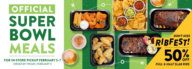 Order Super Bowl Meals