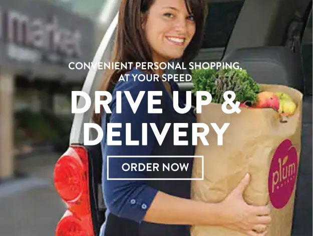Drive up and deliver for your faves